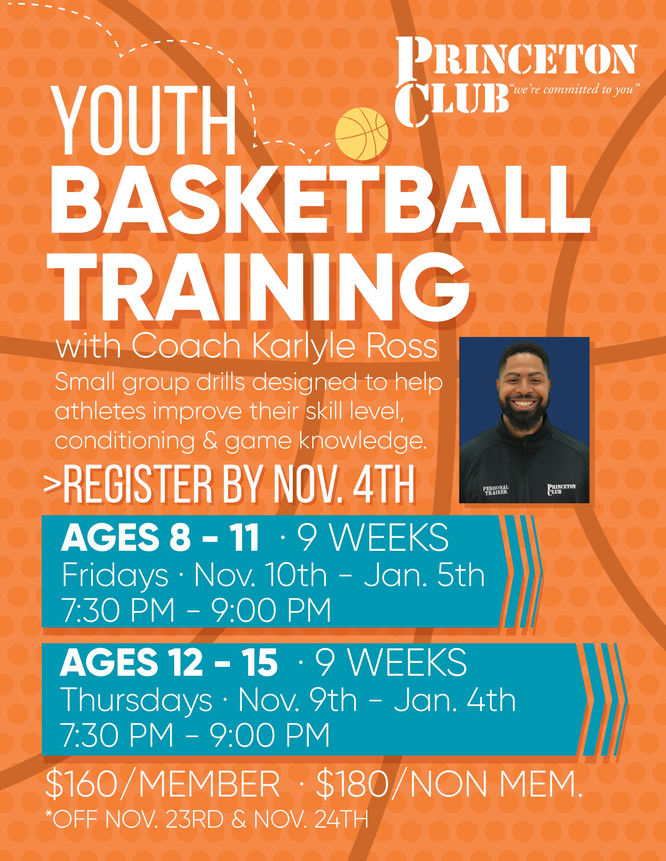 Youth Basketball Training Flyer